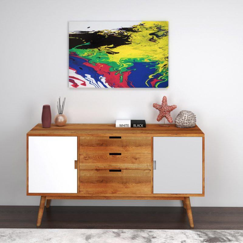 Abstrakt kunst Bild 90-die Klassiker malerei abstrakte kunst