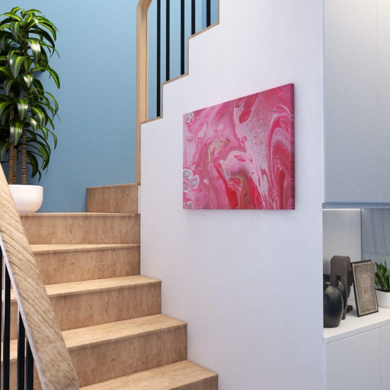 Abstrakt Bild Beste Freunde malerei abstrakte kunst