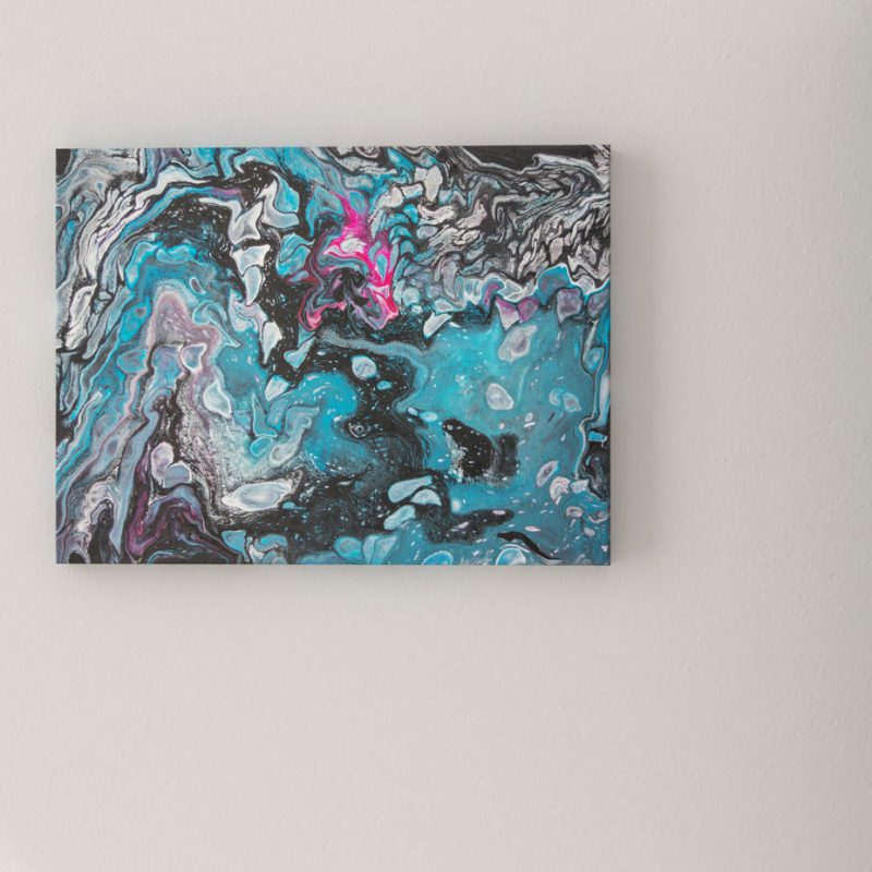 Abstrakt kunst Bild Zusammenarbeiten