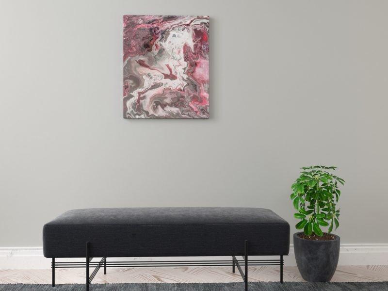 Abstrakt Kunst Bild Ich sehne mich nach dir malerei abstrakte kunst