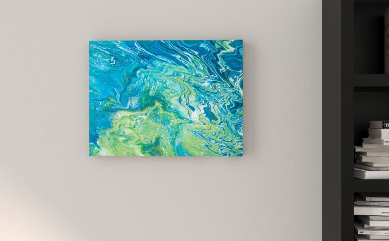 Abstrakt kunst Bild Entsalzung malerei abstrakte kunst