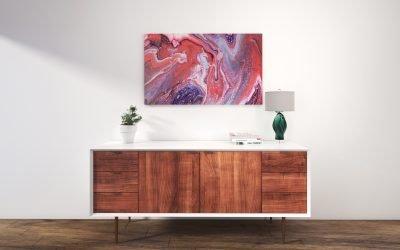 Abstrakt Bild Erste Verabredung malerei abstrakte kunst