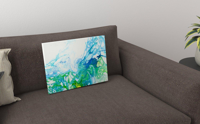 Abstrakt Kunst Bild Garten malerei abstrakte kunst