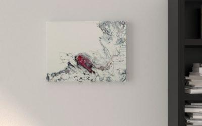 Abstrakt Kunst Bild Herz malerei abstrakte kunst