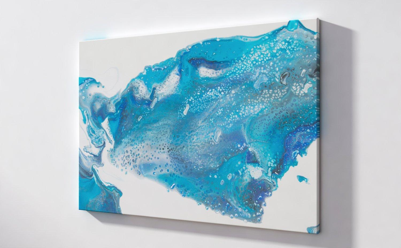 Abstrakt Bild malerei abstrakte kunst