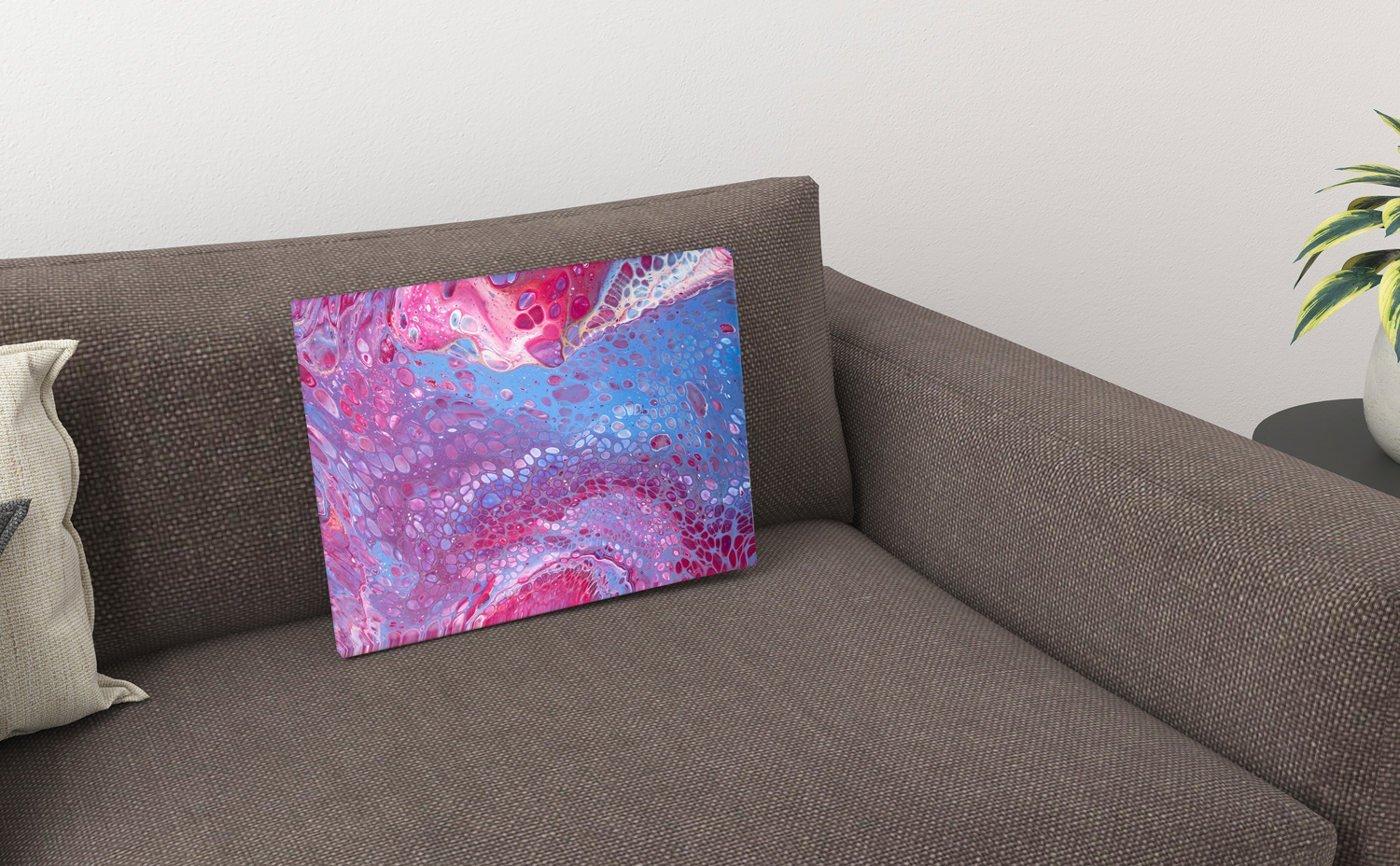 Abstrakt kunst Bild Krake