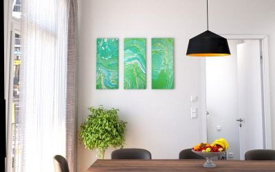 Abstrakt Kunst Bild Giftkolonie malerei abstrakte kunst