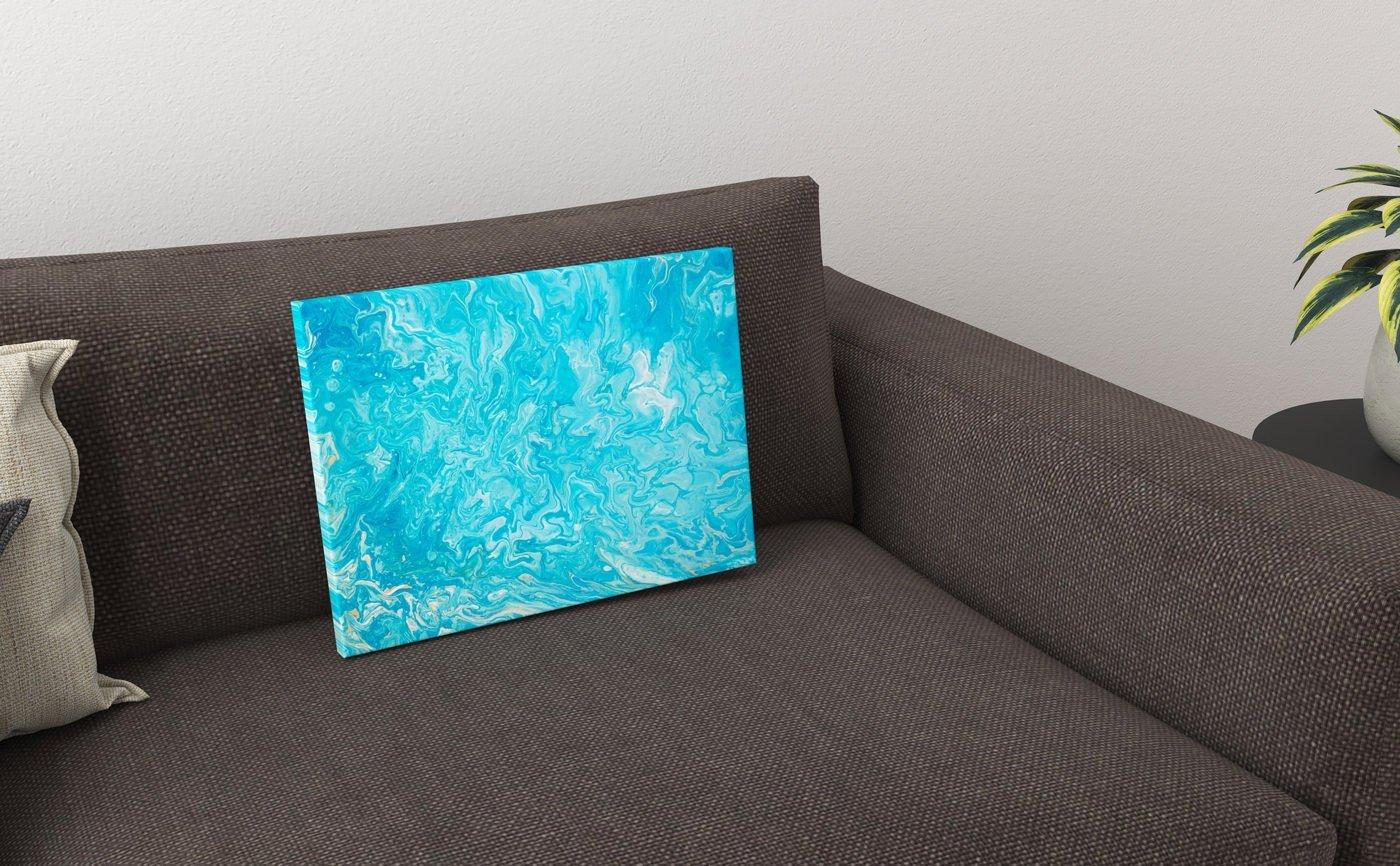 Abstrakt kunst Bild Stille Seele schreit malerei abstrakte kunst