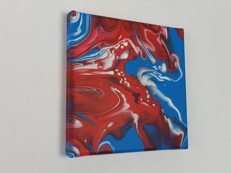 Abstrakt Bilder Rot Fluss